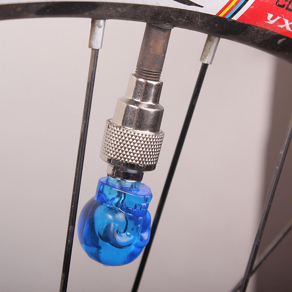 DHL oder UPS 300 stücke Fahrrad Rad Lichter Schädel Mix LED Blitzlicht Neonlampe Nacht Fahrrad Auto Reifen Reifen Rad Ventilkappen Fahrradlichter