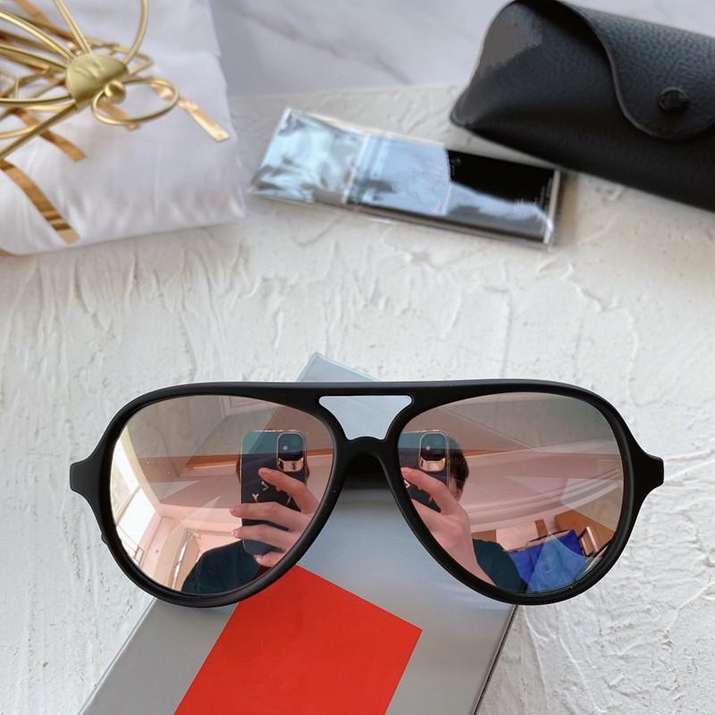High-Quality R9049S KIDS Pilot Sunglasses UV400 for 3-8years 50-12-120 Imported Superlight Healthy Fullrim+Fashion REVO Lens fullset case