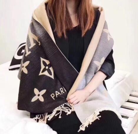 assolutamente alla moda qualità autentica nuovi speciali Acquista Louis Vuitton sciarpe Di Lusso Inverno Cachemire Estivi ...