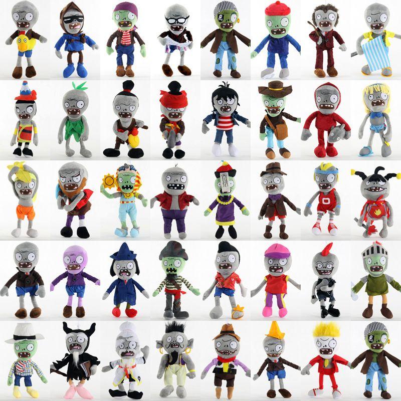 40 estilos vegetal bonecos de pelúcia de presente 30 centímetros bonecos clássico jogo Zombie brinquedos de pelúcia simulação boneca bonito brinquedos dos miúdos natal