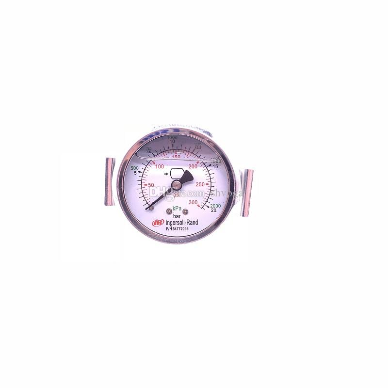 Free shipping genuine 54772058 /0-300PSI air compressor differential pressure gauge for IR screw machine