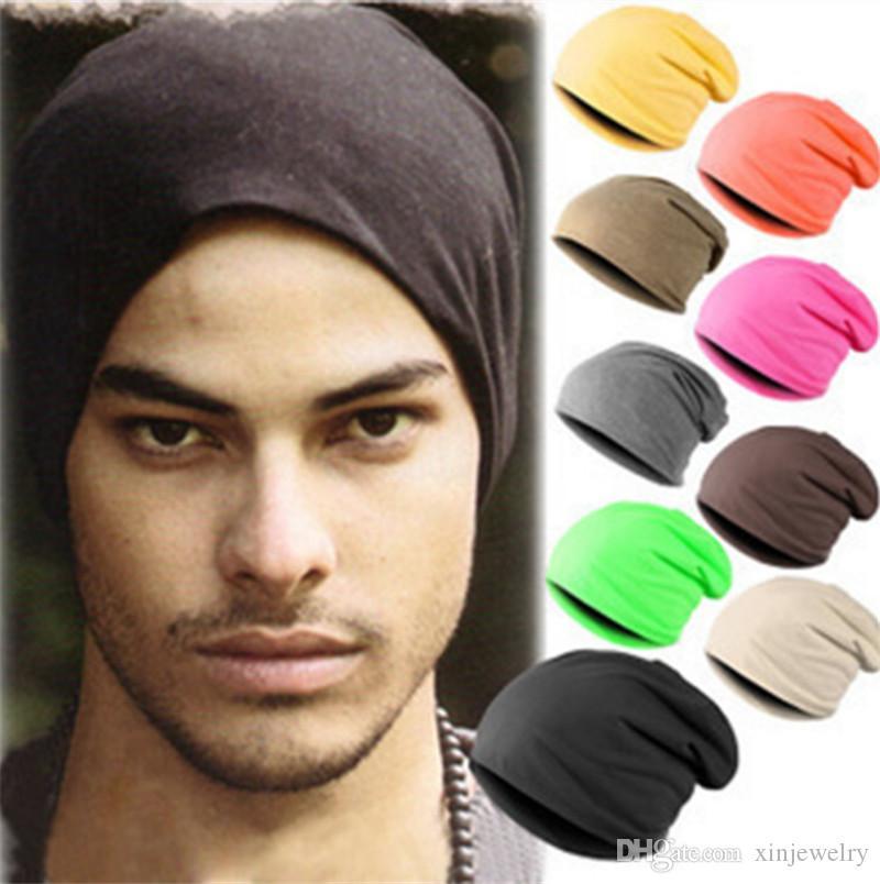 Candy Color Designer Hats Men Women Beanie Headscarf Fashion Street Pop Hip Hop Skull Caps Street dance hat