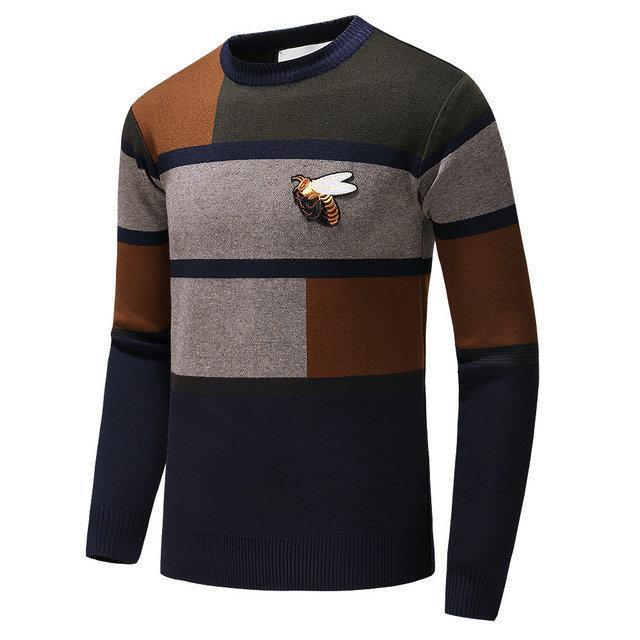 Camisolas para homens fet33 design acolhedor frete grátis Tamanho M-3XL Clássica Homens de Inverno de algodão bordado T Limitada Shirts 0722