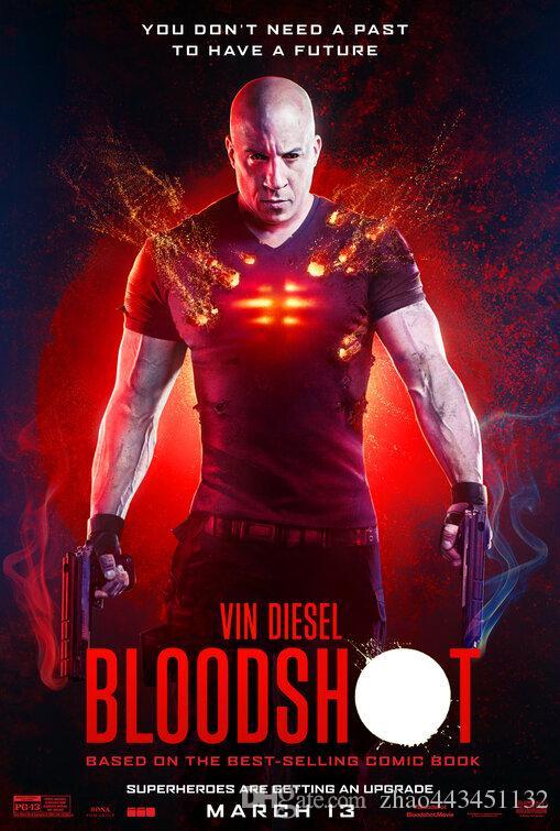 seda inyectados en sangre poster del arte 2020 nueva película