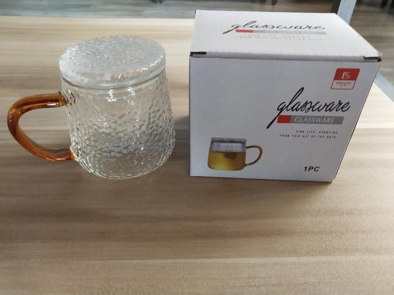 Sıcak, el yapımı cam üç parçalı Çay Kupası, filtreleme fonksiyonu ile güzel bir görünüm, ısıya dayanıklı,