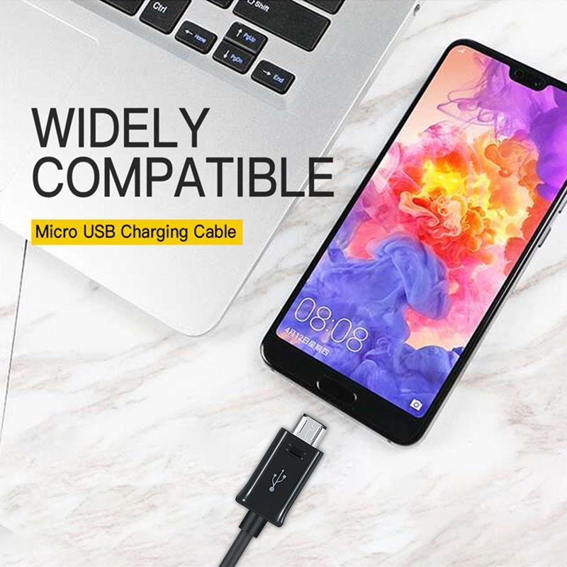 USB cavo di ricarica per Samsung Huawei Android Cellulari Sync Cavi 1M 2A Micro USB Cable 7100