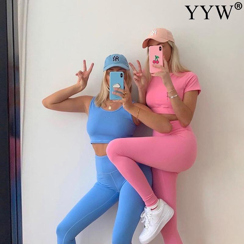 Yoga sujetador de los deportes traje sin fisuras push-up conjunto conjuntos ropa de la aptitud de deporte Deportes mujeres de cintura alta Gimnasio medias de las polainas acolchados