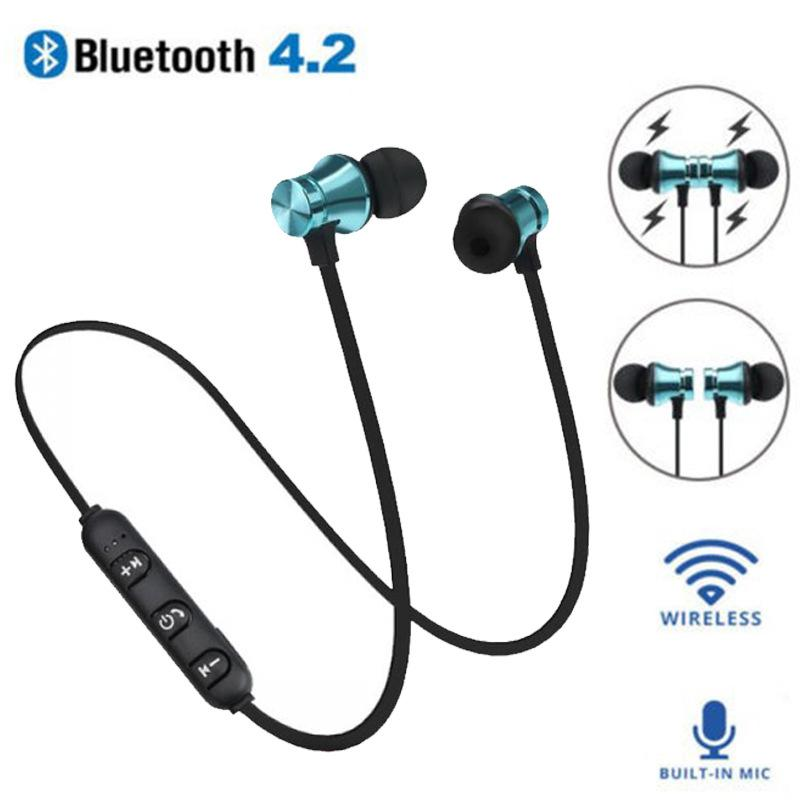 Sports Wireless Magnetic XT11 Bluetooth Earphones Stereo Headset Earpieces Mini Earbuds For iphone X samsung S6 S8 xiaomi huawei