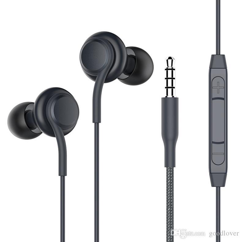 3,5-mm-Klinke In-Ear-Ohrhörer Super Clear Ohrhörer Niedrige Bass Kopfhörer Geräuschisolation Ohrhörer Headset mit Mikrofon für iPhone Samsung s8