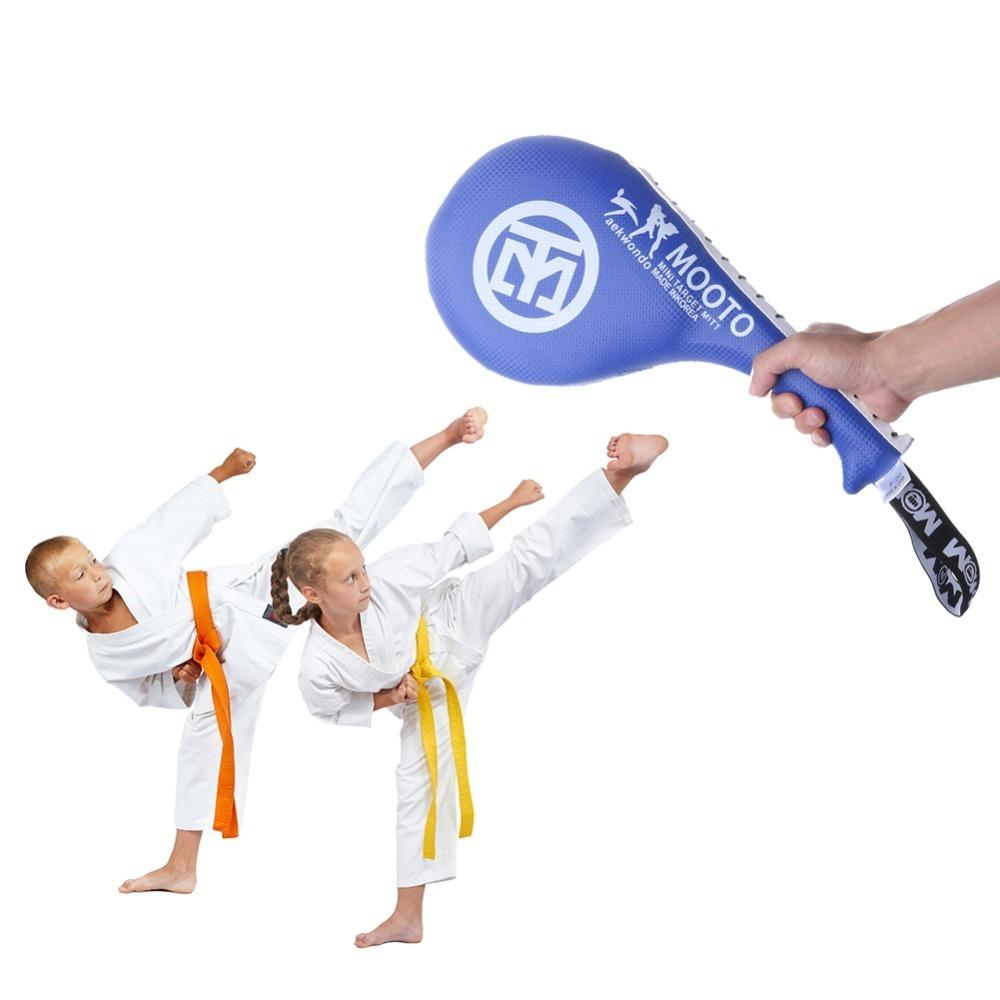Taekwondo Double Kick Pad Target Tae Kwon Do Karate Kickboxing Pad