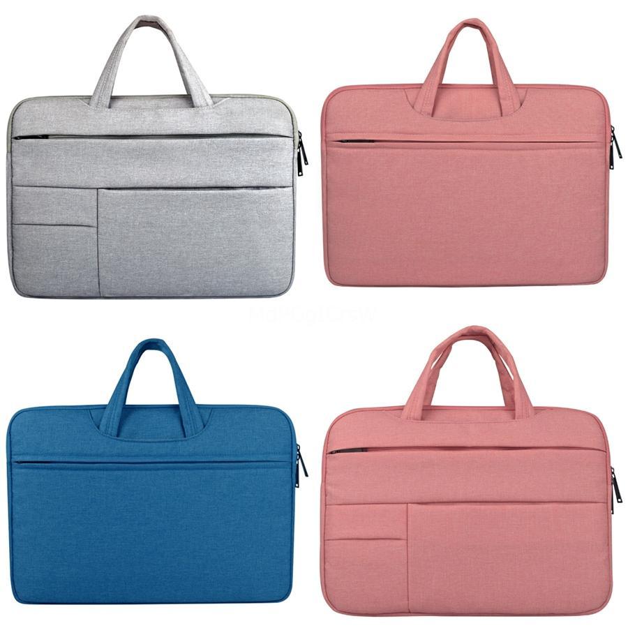 Beutel-Hülsen-Notebook-Tasche Laptop Schutzhandtasche für 12 13 14 15,6 Zoll MacBook Air Pro Xiaomi Asus Acer Lenovo Dell # 128