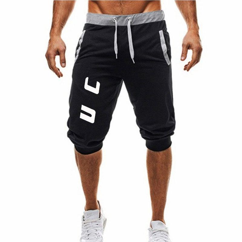 2019 New Man's Shorts Summer Casual Fashion Shorts print Sweatpants Fitness Short Jogger M-3XL