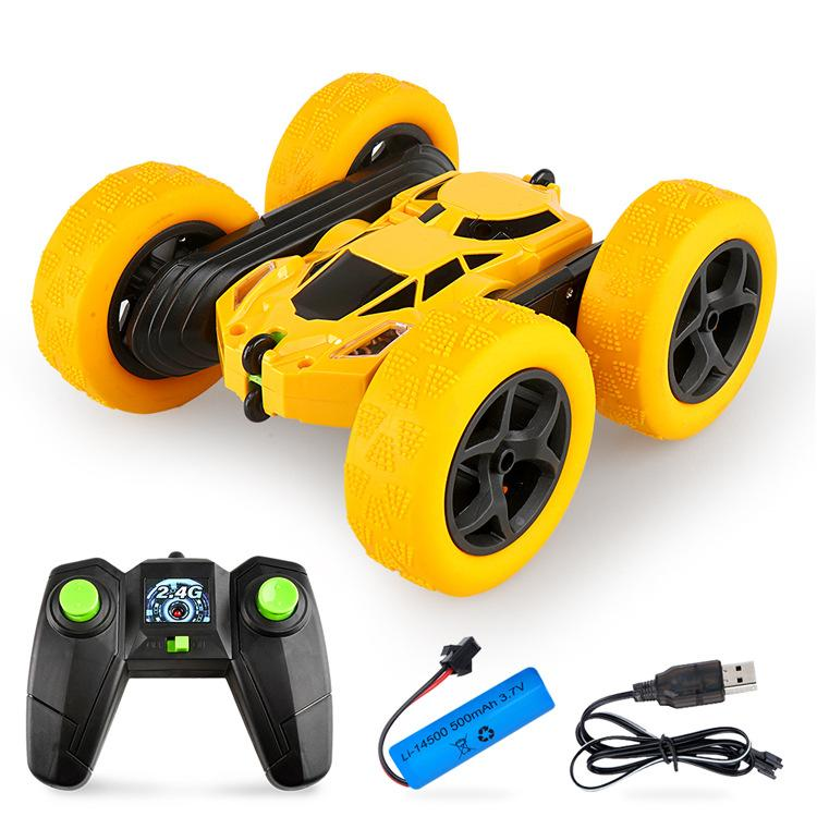 RC Car 1/28 RC Stunt Car High Speed Crawler Vehicle 360 Degree Flips Double Sided Remote Control Toy Include battery