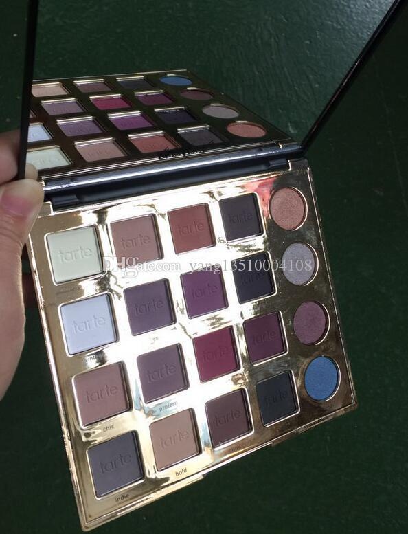 Haute qualité! Tarteist ombre à paupières Pro / shadow pro eye éclat 20 couleurs de maquillage ombre à paupières Shimmer Matte fard à paupières de la Terre Palette de couleurs Cosmet
