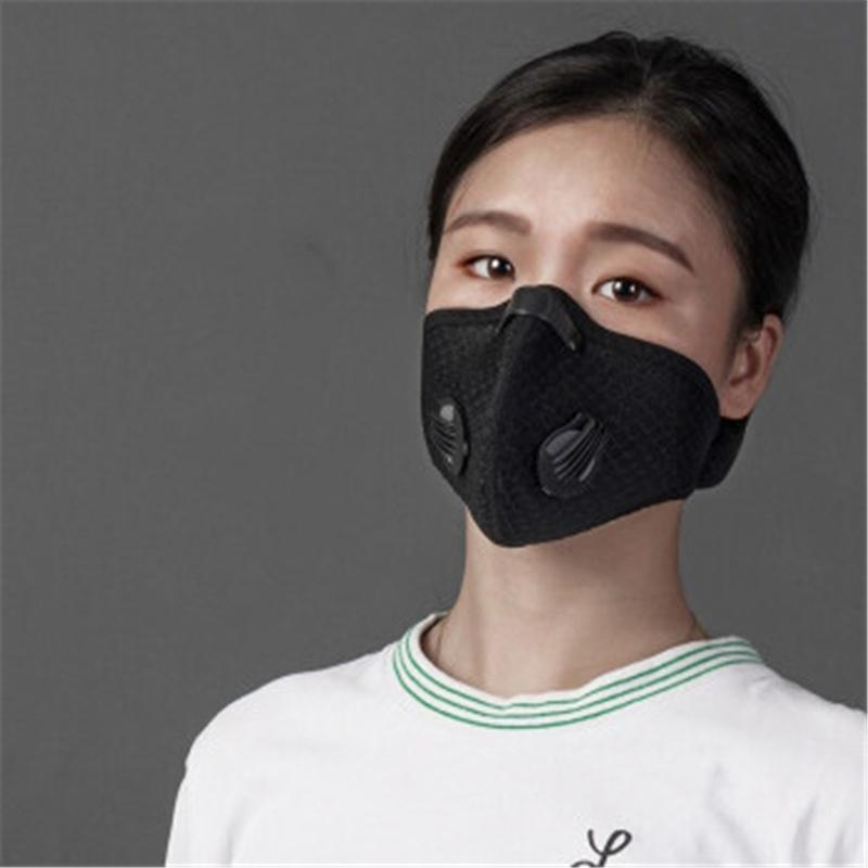 Ef4L1 Insert Layer Mma3365 Mouth Pm2.5 Cotton Face 5 Protective Mat Replaceable s Mask Pa #QA304