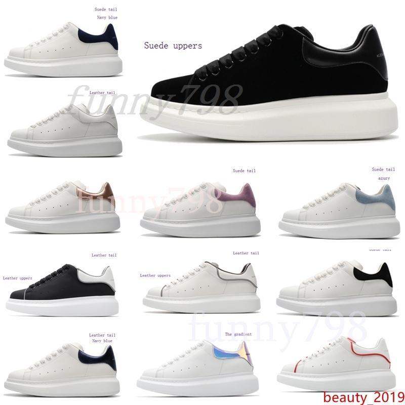 con la plataforma de zapatos clásicos ocasional Deportes Skateboarding Calzado Hombres Mujeres zapatillas de terciopelo vestido Heelback Zapatillas de deporte Tenis
