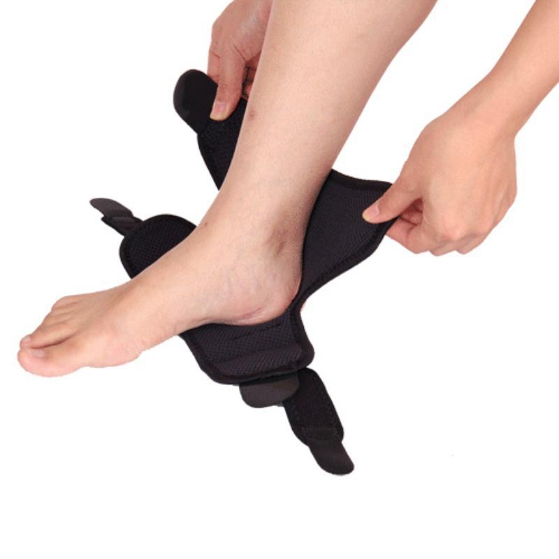 Badminton ostenta protetora de basquete futebol arte tornozelo pé ajustável cinto de pressão guarda entorse de proteção
