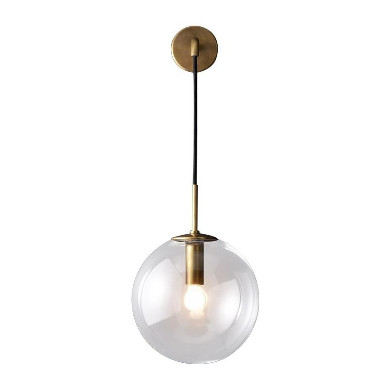 Modern basit kapalı E27 LED Işık Kaynağı pirinç duvar lambası Adjuste siyah altın renk Mobilya Dekorasyon Yatak Odası koridor Aydınlatma duvar lambası