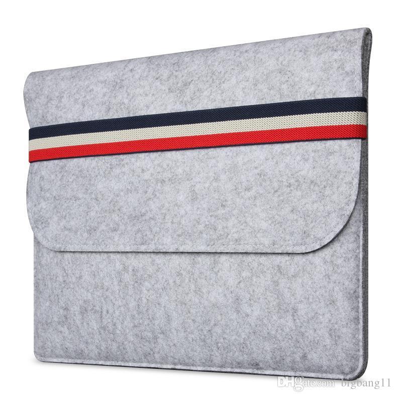 макбук Woolfelt защитный чехол для MacBook Pro сетчатки ноутбук рукав сумки для Mac 11.6 13.3-дюймовый ноутбук случаях