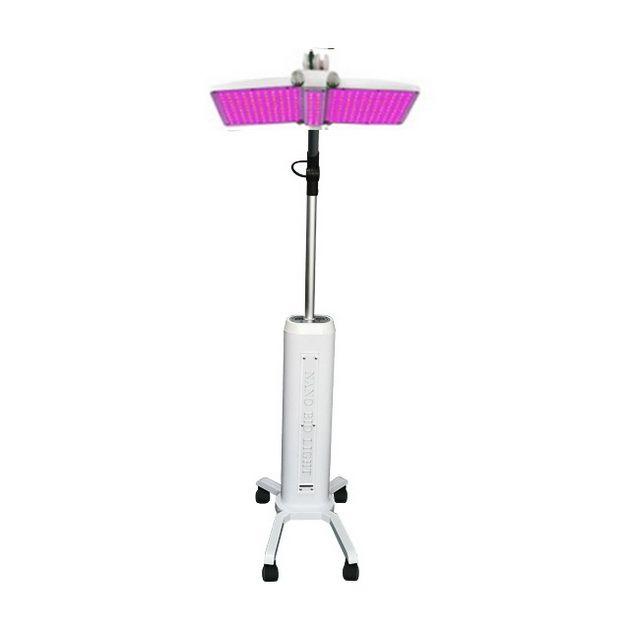 강력한 피라 냐 램프 PDT LED 라이트 테라피 LED 얼굴 기계 주름 제거 여드름 제거 7 색 광자 LED 피부 회춘