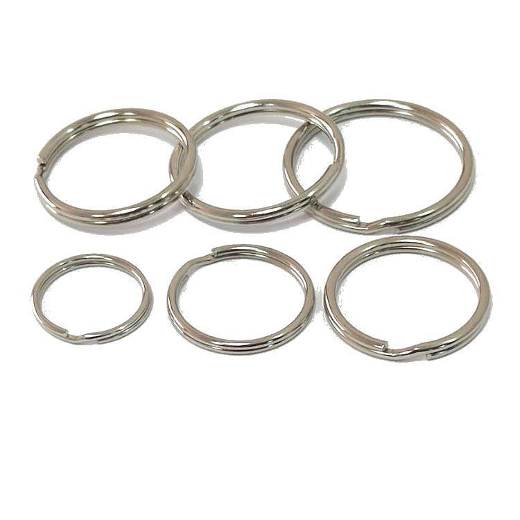 Haute qualité nickelage multi-taille chaîne porte-clés protection de l'environnement des matériaux métalliques Accueil Mode pratique Accessoires de gros