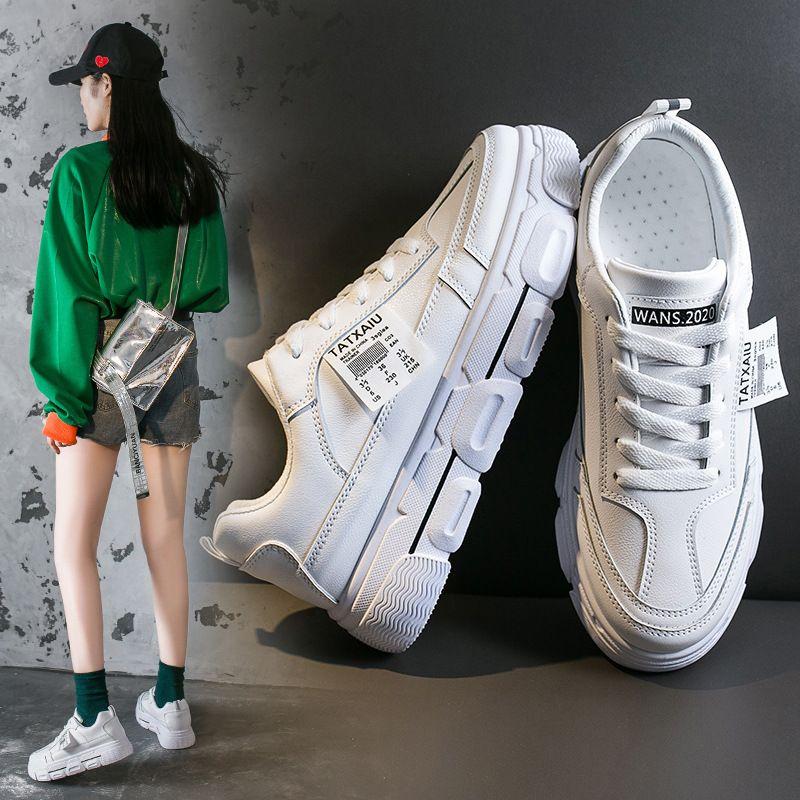 New Style Joker Basic White Shoes Women