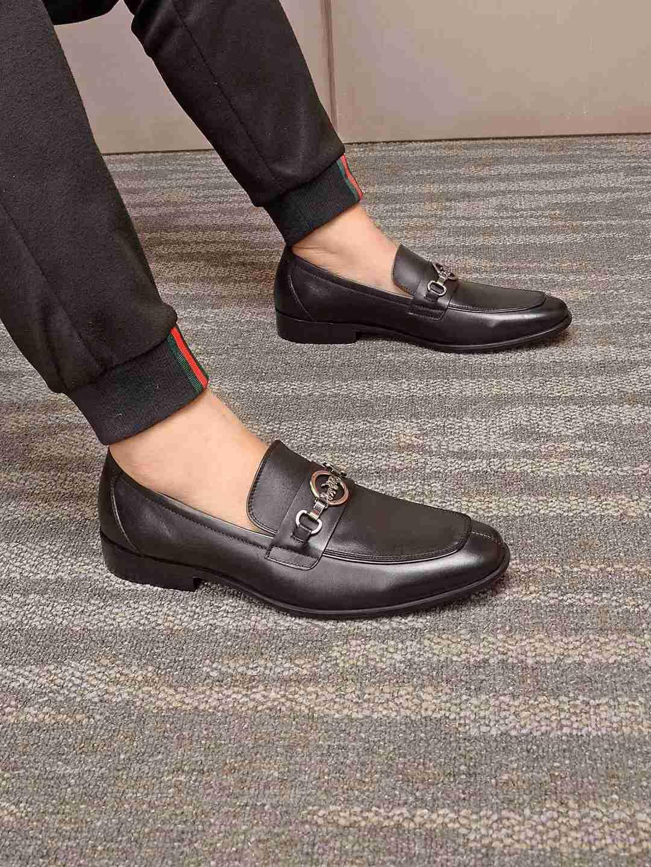 sapatos rasos Traje Inglaterra casuais formal dos homens dos homens lyakNew