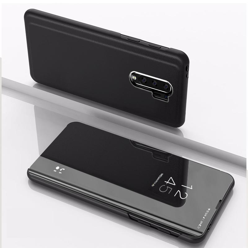 Slim PU Miroir Flip cuir Stand Case Pour Xiaomi redmi 9 10X 5G Remarque 9S Note 8 K30 Mi 10 Pro CC9 Pro