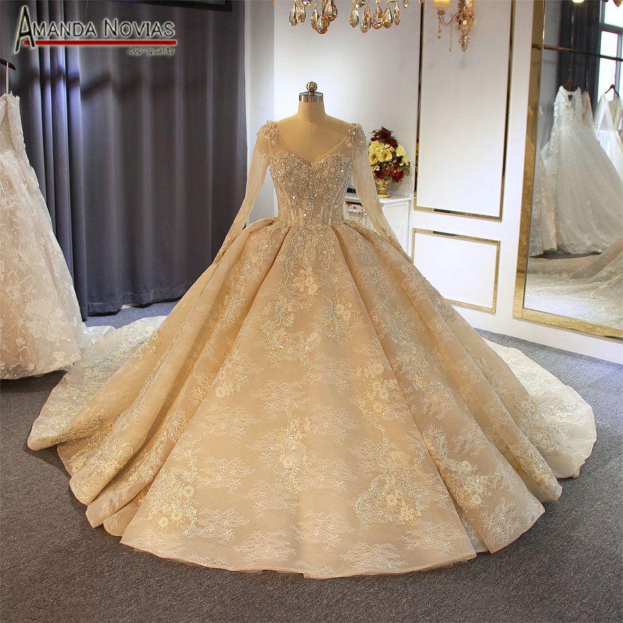 Acheter Gelinlik 2019 Robe De Mariée De Luxe