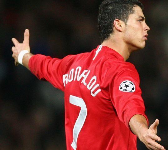 2008 2008 Manchester Retro Red Home Jersey 7 # Ronaldo Manga larga 07 08 Retro # 10 Rooney # 11 Giggs # 18 Scholes Camisas de fútbol retro