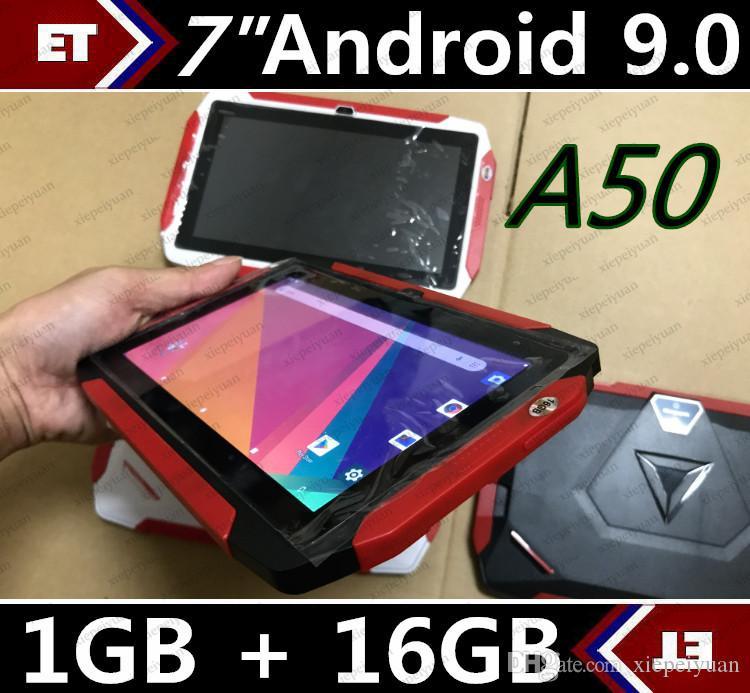 مجانا فيديكس طفل اللوحي Q98 رباعية النواة 7 بوصة 1024 * 600 HD شاشة الروبوت 9.0 AllWinner لA50 الحقيقي Q8 1GB RAM 16GB مع واي فاي بلوتوث