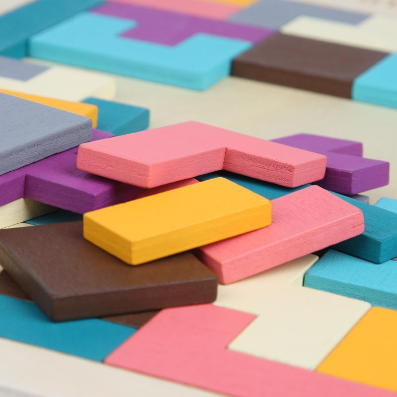 WJ1040X15 Blokları Çocuk hediye üreticileri anaokulu hediyeler Tetris blok bulmaca Eğitici oyuncaklar İstihbarat oyuncak Jigsaw bulmaca