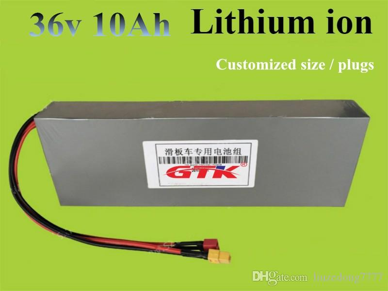 Batería eléctrica 36V batería 36V 10AH batería de litio batería 36V Ebike con 15A BMS 42V 2A cargador Envío Gratis
