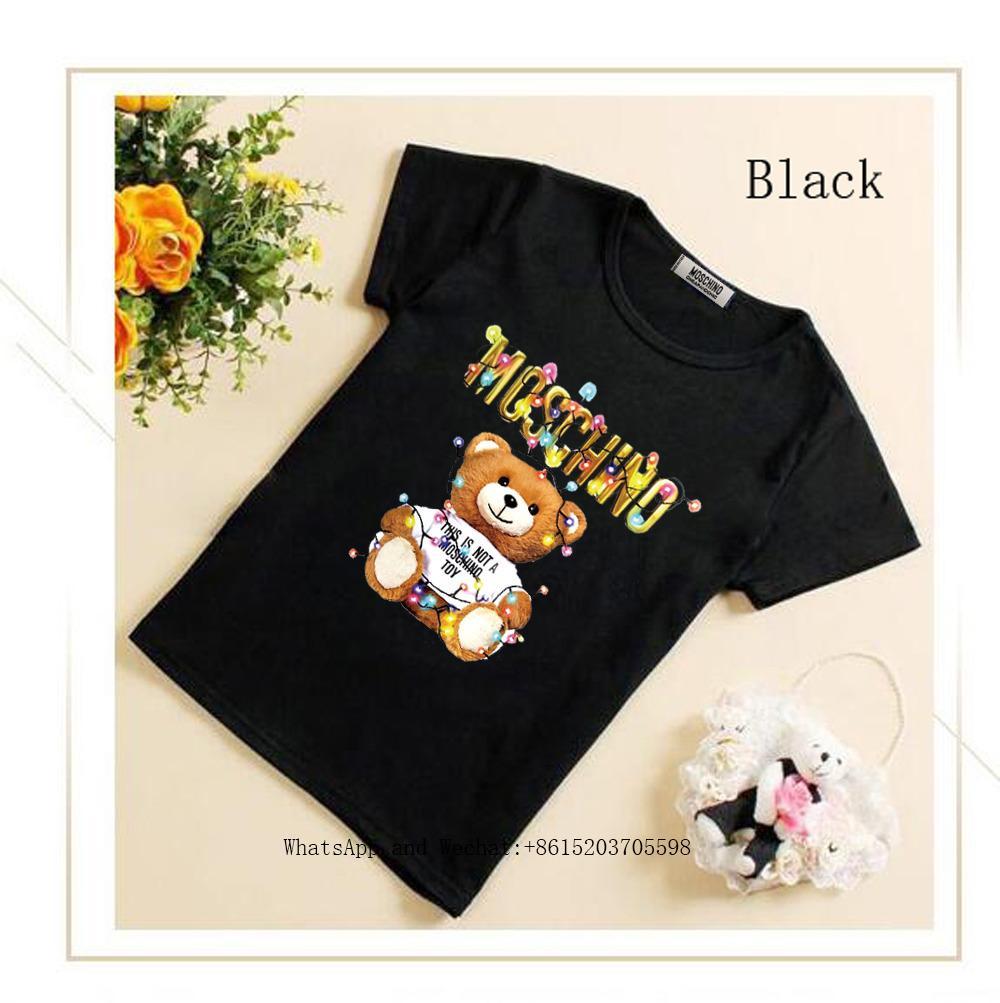 T-shirt da mezza età per studenti a maniche corte T-shirt da bambino
