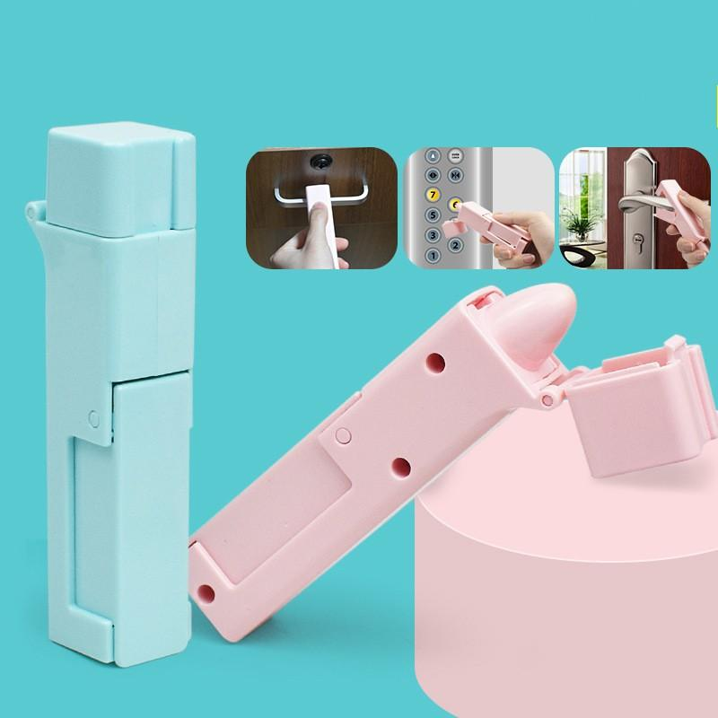 Safety Opening Door Gadget Plastic Press Elevator Tool Press Protective Elevators Button Avoiding Contacting Artifact In Stock 6 5lb E19