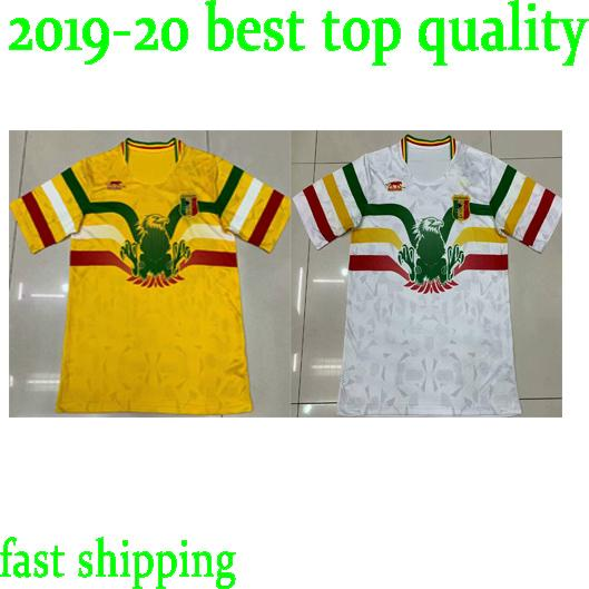 d019f81b8a6 2019 2020 National Team Mali Soccer Jerseys Custom Any Name Any Number Home  Yellow Concept 19