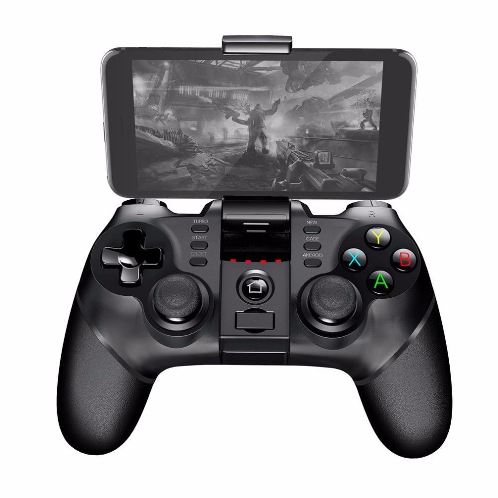 iPega PG-9077 comando sem fios Bluetooth Jogos Os telefones celulares Joystick Game Acessórios para Smart Tablets Smart TV