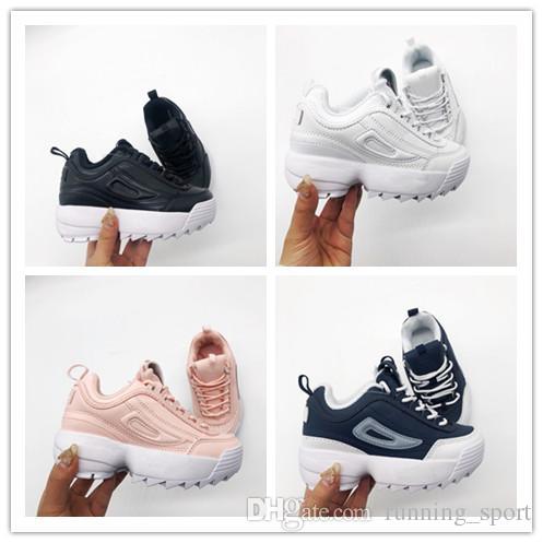 FL Haute qualité 2019 Infant F chaussures enfants chaussures de course rose blanc poussiéreux Cactus F en plein air en plein air athlétique sport garçon fille enfants baskets