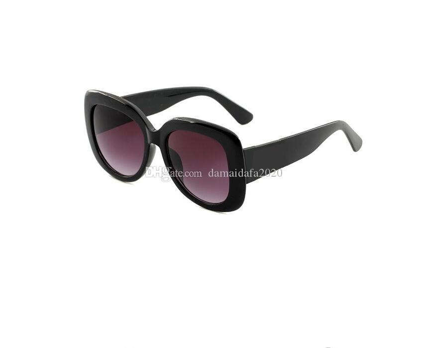 New sunglasses luxury full frame unisex UV protection fashion designer sunglasses trend street shooting sunglasses