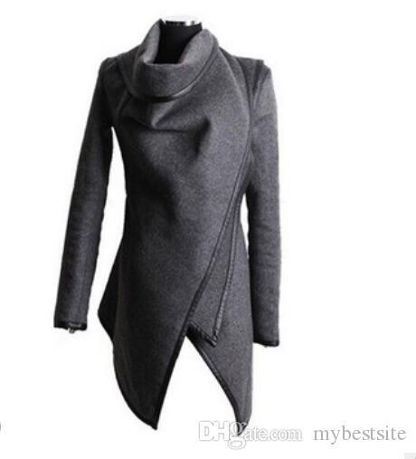 Sıcak Yeni Moda Coat Yün Sıcak Uzun Rüzgarlık Parka Kadınlar Kış Coat