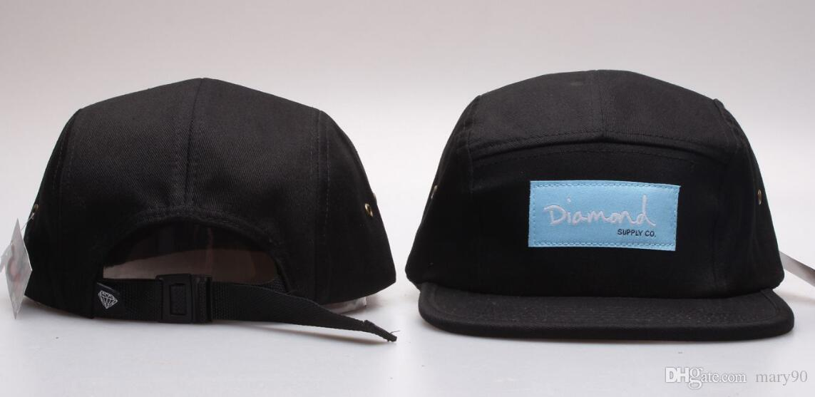 2019 new diamond 5 panel Snapback Baseball Caps Snapbacks bone Adjustable Snap Back Hats Womens Mens Flat Caps Hip Hop Cheap Sports Hats