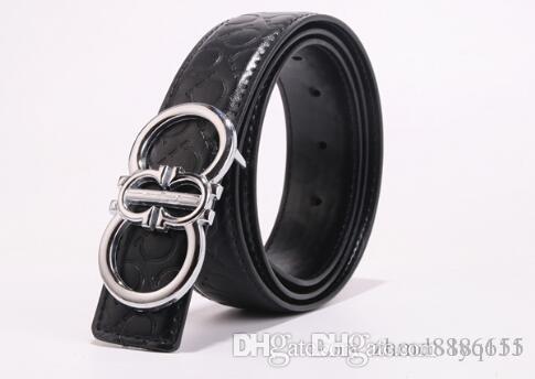 KK Men/'s Genuine Leather Belt