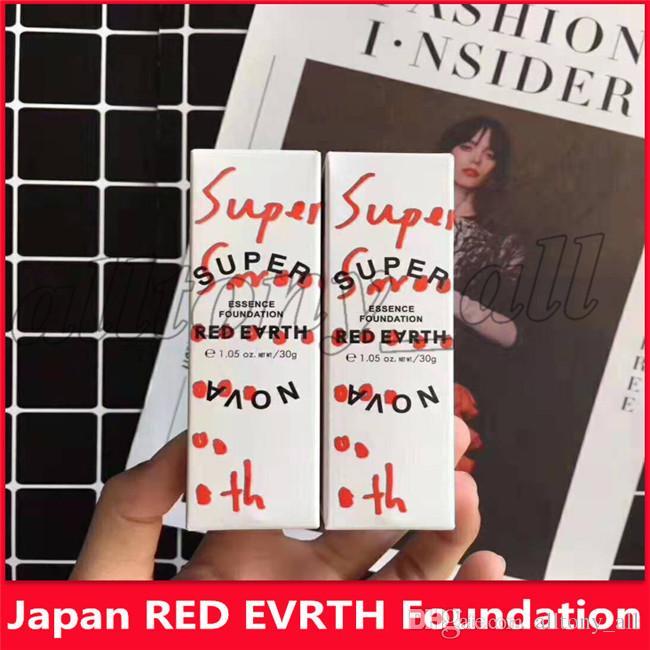 2019 العلامة التجارية الشهيرة اليابان سوبر نوفا RED EVRTH مؤسسة الوجه والجسم مؤسسة مع 2 الألوان عالية الجودة