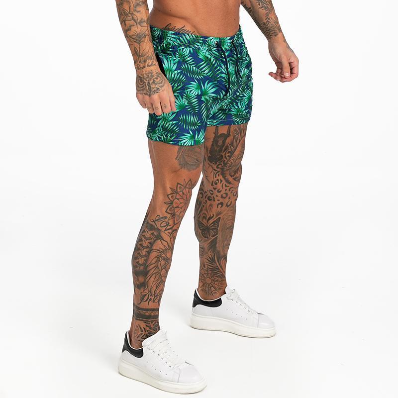 Мужские плавки сетки Подкладка мужчины совет Шорты с карманами купальников для серфинга, бассейн Летних каникул купальники Fast Dry T200325