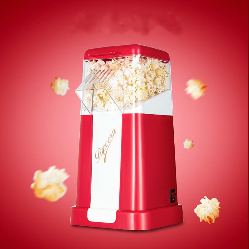 220v para el hogar Fabricantes palomitas de maíz de aire caliente Popper conveniente para DIY eléctrico palomitas de maíz mini máquina de las palomitas
