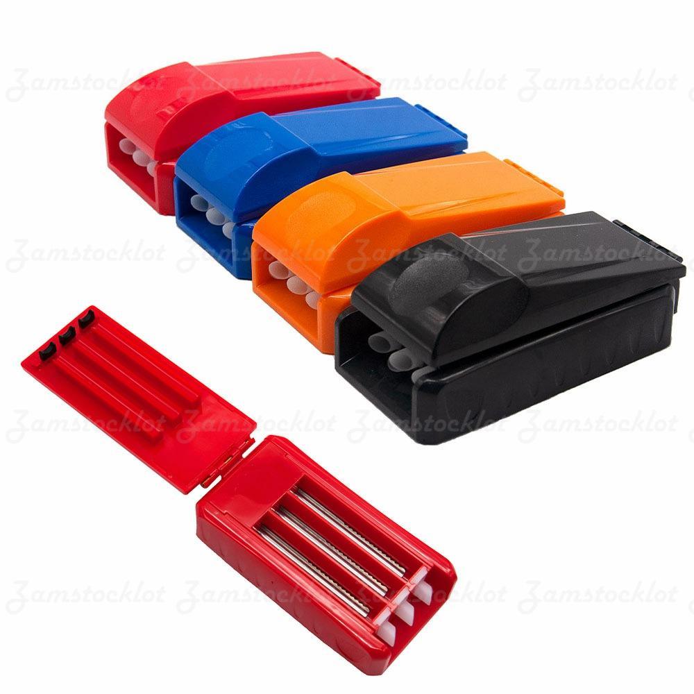 Inyector de rollo de rollo de plástico duro popular para el cigarrillo Make Roller Papel de rodillo de traje de inyector automático para titulares de cigarrillos por DIY