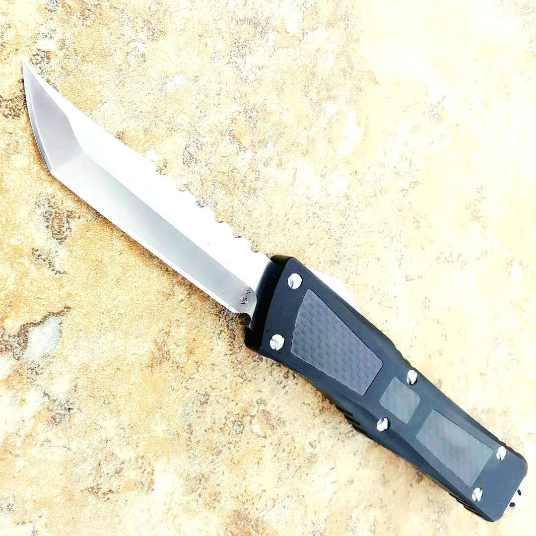 combat CF VG10 HELLHOUND T6061 double action tactique légitime défense pliage cadeau de kershaw de couteaux de chasse couteau de camping de poche couteau edc