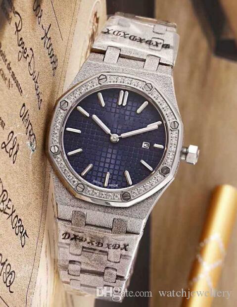 Üst düzey bayan kuvars saatler. Kol saati, Swiss kuvars hareketi watch.Sapphire aynası.