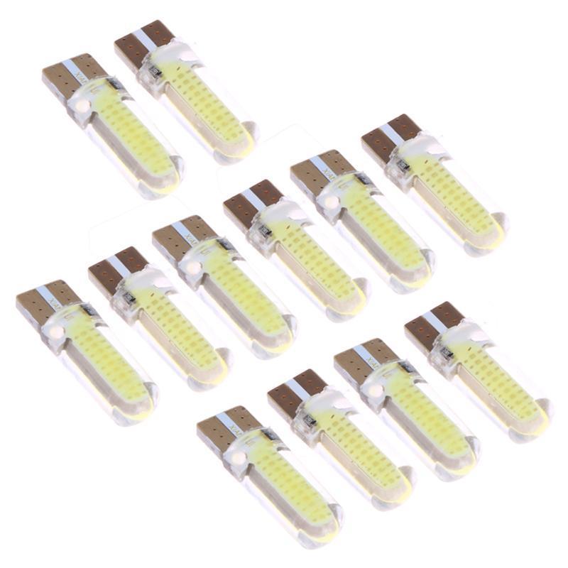 2/4/6 W5W 168 T10 3W Zeigt Breite Licht Silikon-Kfz-Kennzeichen-Leselampe