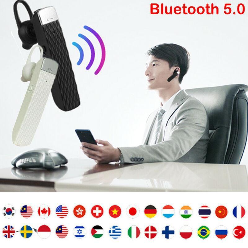 Smart Voice Translator Portable Headset Tempo real Multi-Language Translation